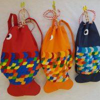 Mali ribar - ruksaci